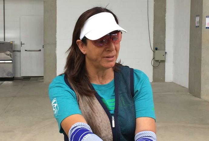 Janice Teixeira tiro esportivo (Foto: Raphael Marinho)