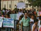 Anúncio de redução de nível de usina gera protestos em Delfinópolis, MG
