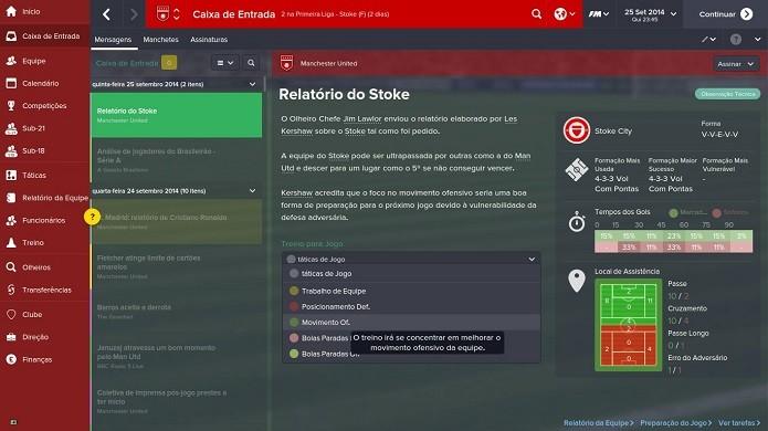 Prepare seu time para cada partida (Foto: Reprodução/Thiago Barros)