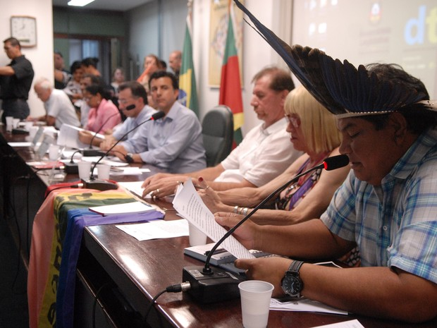 Comissão dos Direitos Humanos da Assembleia Legislativa do RS discute declarações polêmicas de deputado (Foto: Karine Viana/Agência ALRS)