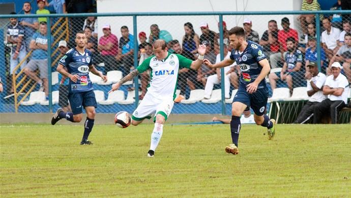 Goianésia x Goiás - Campeonato Goiano 2017 (Foto: Rosiron Rodrigues / Goiás E.C.)