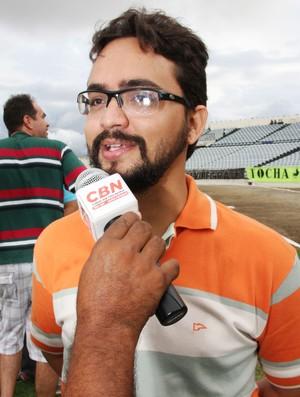 Tibério Limeira, secretário de Esportes da Paraíba (Foto: Magnus Menezes / Jornal da Paraíba)