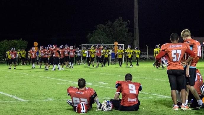 Sinop Coyotes venceu o Sorriso Hornets na estreia do Estadual (Foto: Reprodução/Facebook)