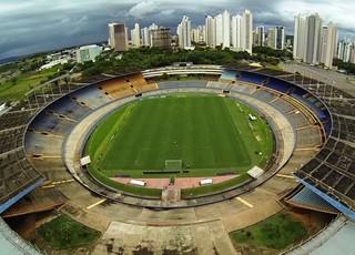 Estádio Serra Dourada (Foto: Reprodução/TV Anhanguera)