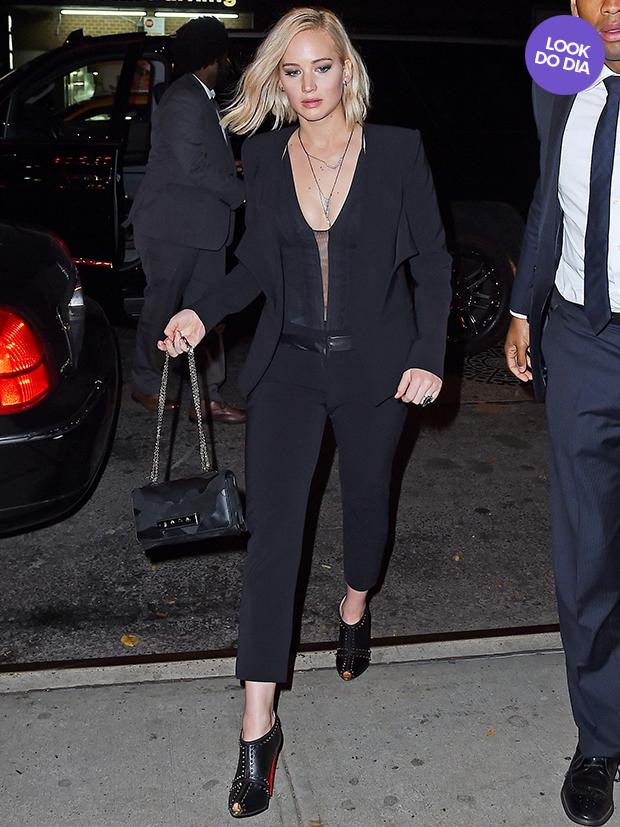 Jennifer Lawrence - Look do Dia (Foto: AKM-GSI / AKM-GSI)