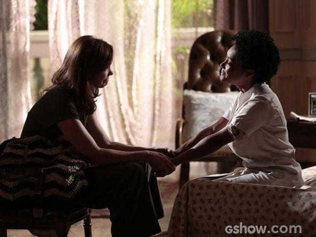 Helena e Neidinha são amigas de longa data (Foto: Felipe Monteiro/ TV Globo)