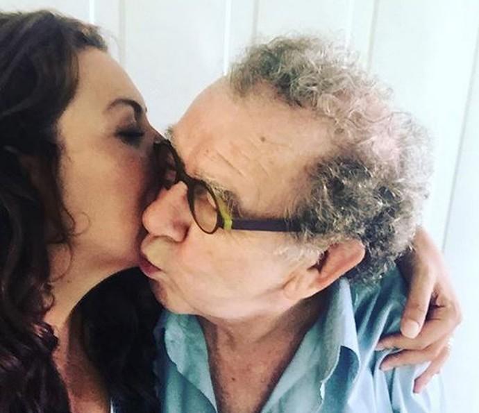 Fabiula Nascimento posta foto com Umberto Magnani  (Foto: Arquivo Pessoal )