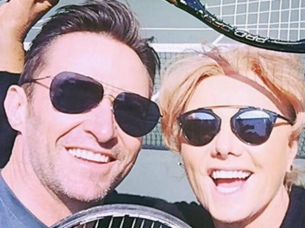 Hugh Jackman ao lado da esposa, Deborra-Lee Furness (Foto: Reprodução/Instagram)