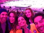 Patrícia Poeta e mais famosos vão a encerramento da Olimpíada Rio 2016