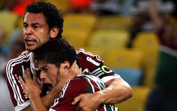 Fred e Conca Fluminense x Horizonte (Foto: Nelson Perez / Fluminense F.C.)