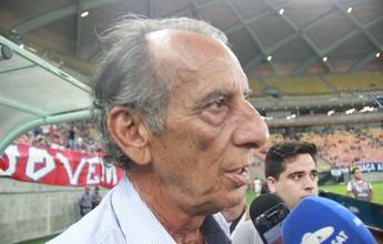 """Rio Negro faz jogo de igual para igual e Lana elogia: """"Fizemos o possível"""""""