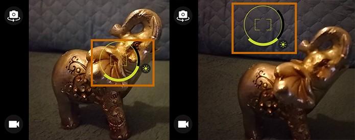 Personalize o foco no registro da foto pelo Moto G 3 (Foto: Reprodução/Barbara Mannara)