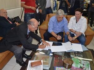 Convênio entre município e Governo Federal foi assinado (Foto: Divulgação/Ascom Cabo Frio)