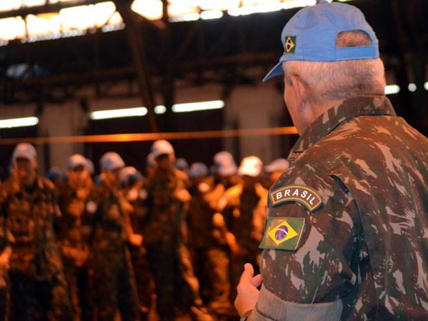 Coronel Anisio David de Oliveira Junior assume em dezembro como comandante das tropas brasileiras no Haiti (Foto: Lana Torres / G1)
