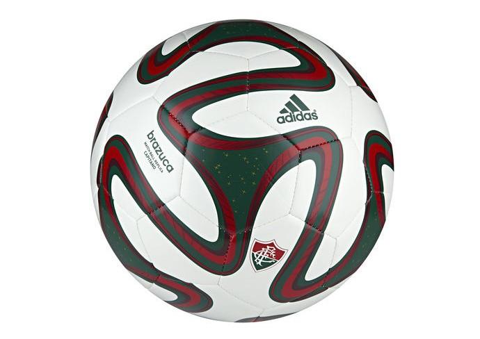 Curtinha  bola da Copa do Mundo de 2014 ganha versão do Fluminense ... c680bddfb9a76