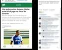 """Petraglia critica Walter, do Goiás, por condição física: """"Vida curta de jogador"""""""