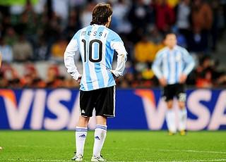 Messi argentina alemanha desolado (Foto: agência Getty Images)