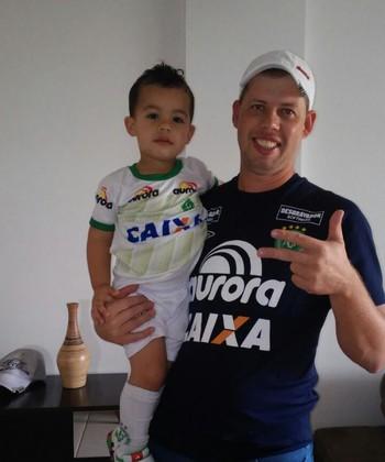 Rodrigo Staffen, padrinho do filho de Danilo (Foto: Arquivo Pessoal)