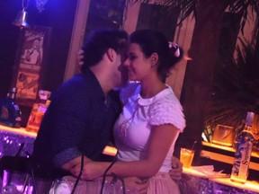 Rodrigo Andrade e nova namorada (Foto: Divulgação / Edu Silvério)
