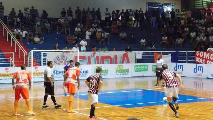 São Paulo/Bauru venceu equipe do Vale do Paraíba fora de casa  (Foto: Cristiani Simão/Jornada Esportiva)