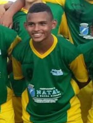 Thiaguinho - revelação da Copa Nossa Cidade de Futebol Sub-15 (Foto: Kyberli Gois/Divulgação)