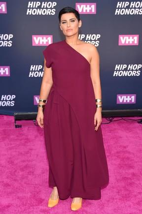 Nelly Furtado em premiação em Nova York, nos Estados Unidos (Foto: Michael Loccisano/ Getty Images/ AFP)