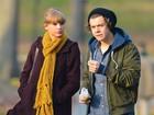 Taylor Swift é esnobada por Harry Styles em viagem a Londres, diz site
