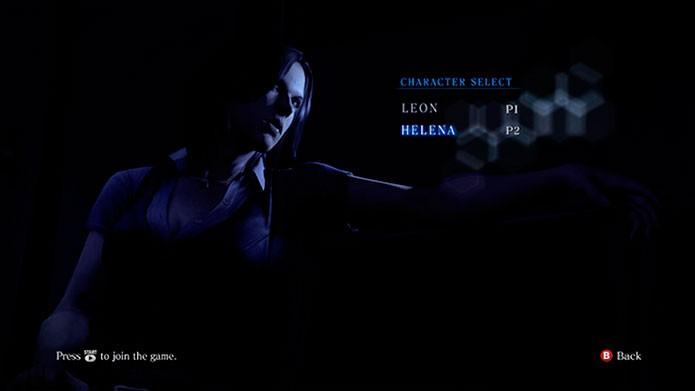 Escolha os personagens do primeiro e segundo jogador (Foto: Divulgação)