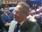 Para Renan, 1º dia de julgamento de Dilma no Senado foi 'conturbado'