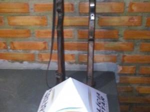 Espingardas foram entregues voluntariamente para a PM (Foto: Divulgação / Polícia Militar)