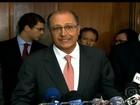 'Siemens vai indenizar centavo por centavo', diz Geraldo Alckmin