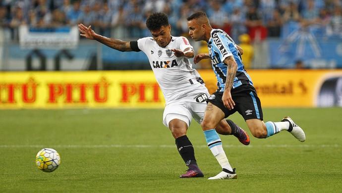 Luan Grêmio x Atletico-MG Copa do Brasil (Foto: Lucas Uebel/Divulgação Grêmio)