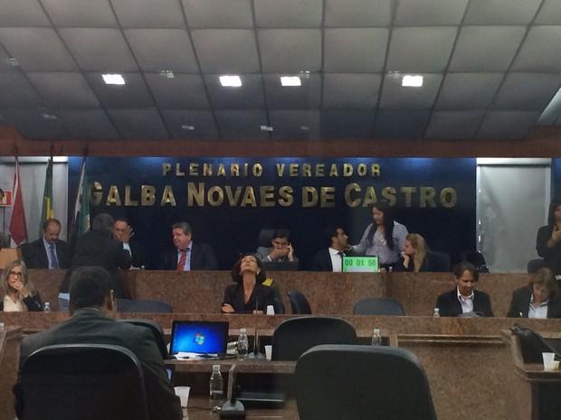 Câmara de Vereadores de Maceió (Foto: Carolina Sanches/G1)