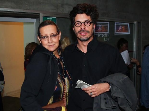 Betty Lago e Daniel Alvim em teatro em São Paulo (Foto: Manuela Scarpa/ Foto Rio News)