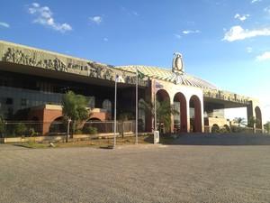 Palácio Araguaia, sede do governo do Tocantins (Foto: Bernardo Gravito/G1)