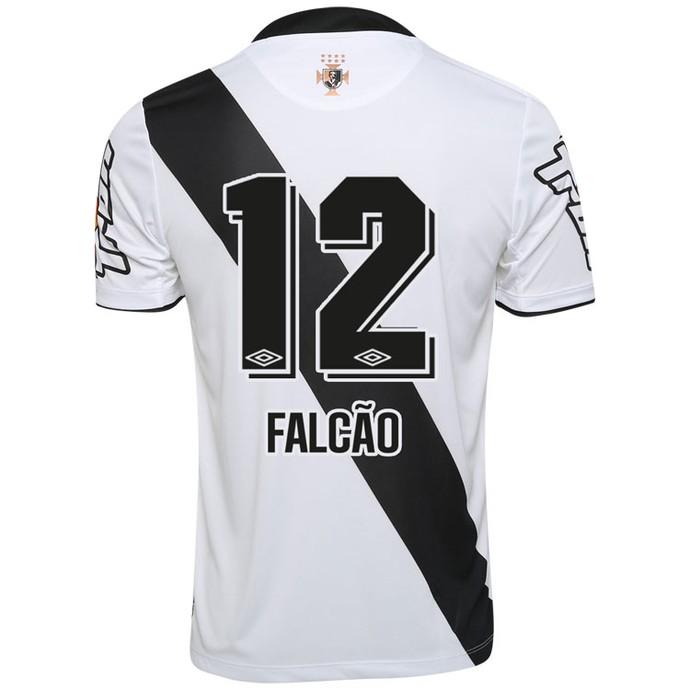 Camisa Vasco Falcão futebol 7 à venda (Foto: Reprodução/Gigante da Colina)