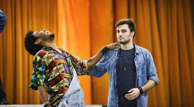 ícaro Silva e Hugo Bonemer (Foto: Instagram / Reprodução)