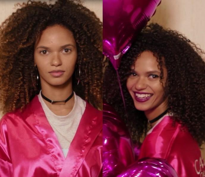 Juliana - antes e depois (Foto: L'Oréal Paris)