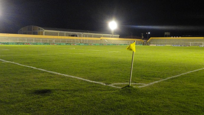 Estádio Mendonção (Foto: André Vinícius / GE.COM/CARUARU)