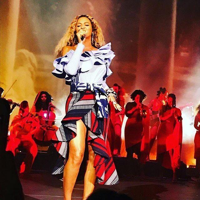 Beyoncé  se apresenta na festa da empresa Parkwood Entertainment (Foto: Reprodução)