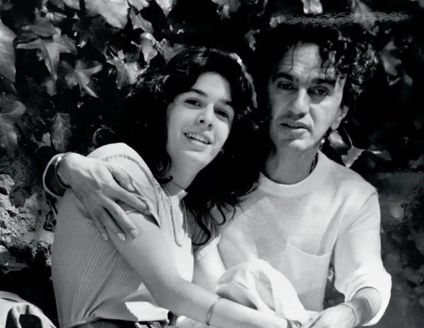 Aos 19, com Caetano Veloso, com quem acaba de reatar (Foto: .)