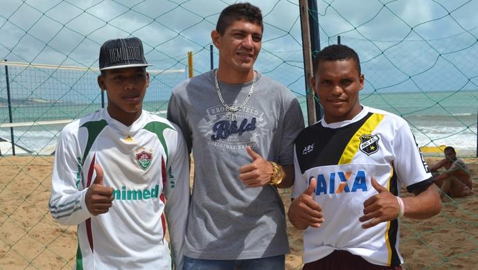 Edson - volante do Fluminense (Foto: Jocaff Souza/GloboEsporte.com)