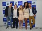 Ex-BBBs Aline, Aslan e Marcello prestigiam lançamento de CD