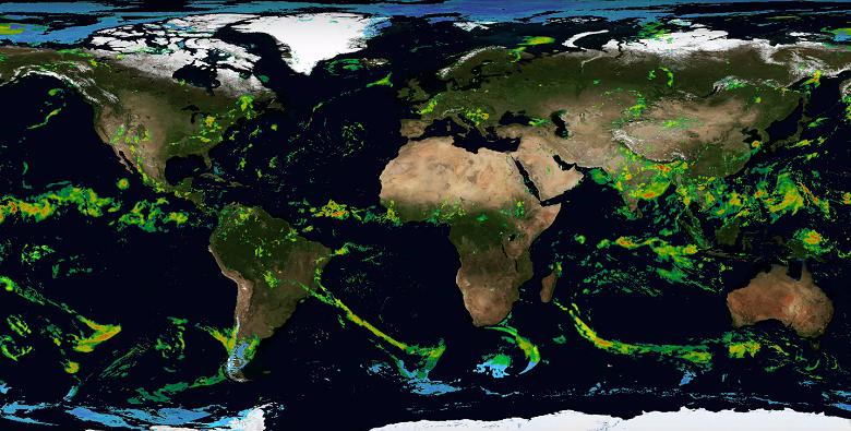 NASA divulga vídeo com mapeamento global de tempestades
