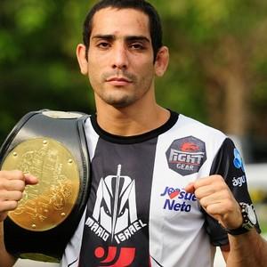 Mário Israel lutador amazonas mma (Foto: Michael Dantas/Sejel)