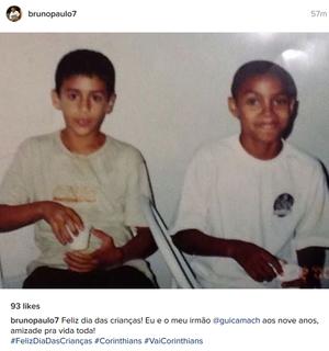 Camacho e Bruno Paulo, Corinthians (Foto: Reprodução do Instagram)