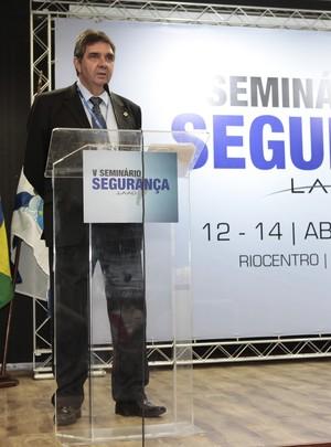 Luiz Alberto Sallaberry, confirmou que a probabilidade do Brasil ser alvo de ataques terroristas foi elevada nos últimos meses (Foto: Agnaldo Pedro)