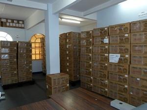 Urnas da 256ª Zona Eleitoral em São João del Rei (Foto: 256ª Zona Eleitoral de São João Del Rei/Divulgação)