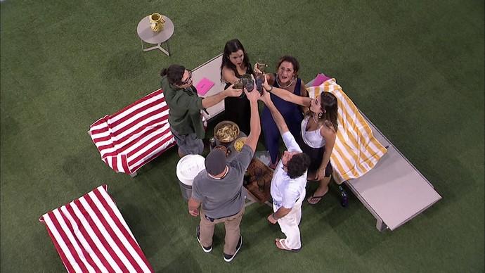Participantes BBB17 (Foto: TV Globo)