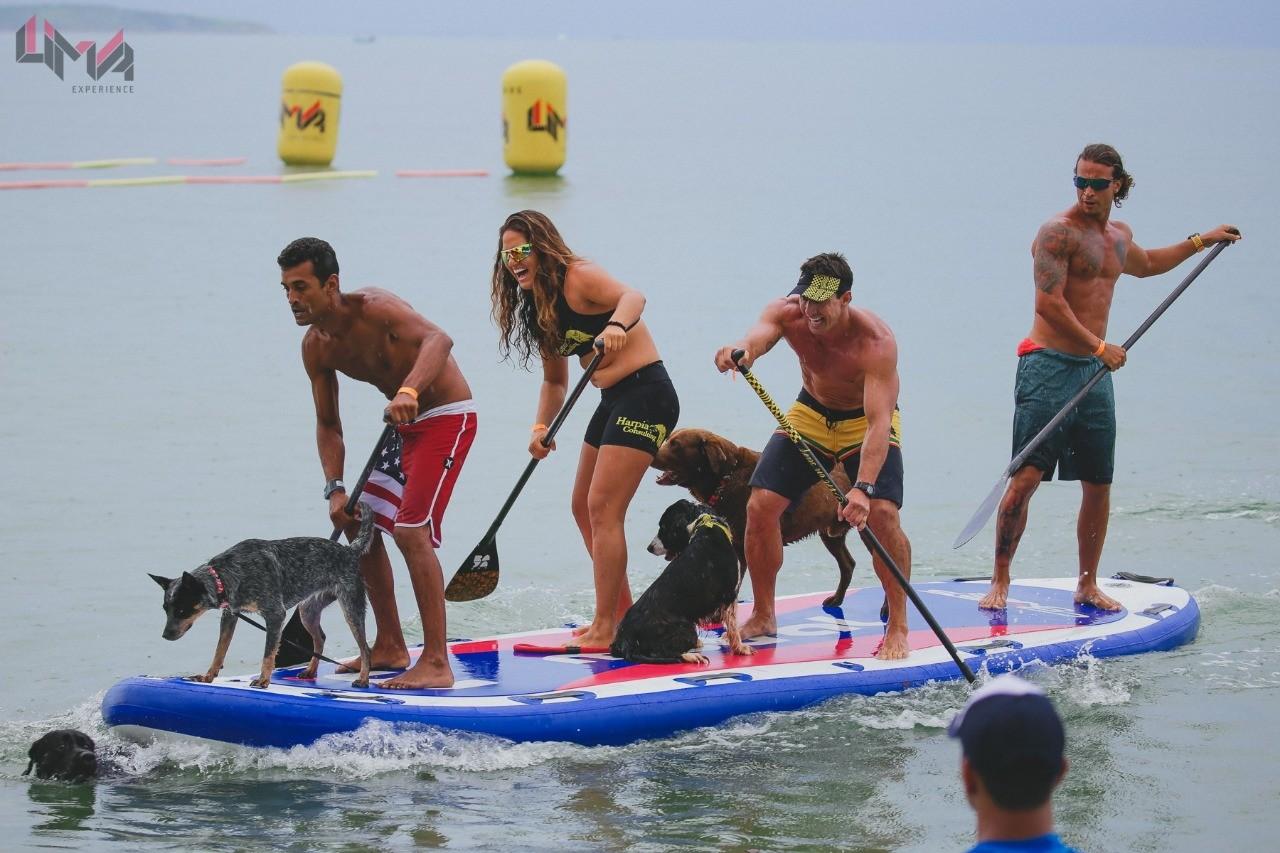SUP Dog  uma das  categorias de maior sucesso na Rei de Bzios (Foto: Divulgao)